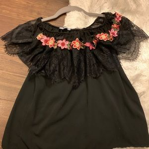 Girly lace top